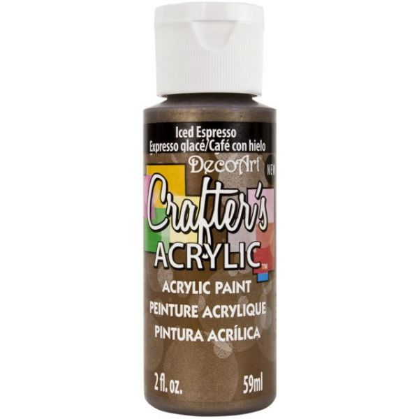 Deco Art Iced Espresso Crafter's Acrylic Paint