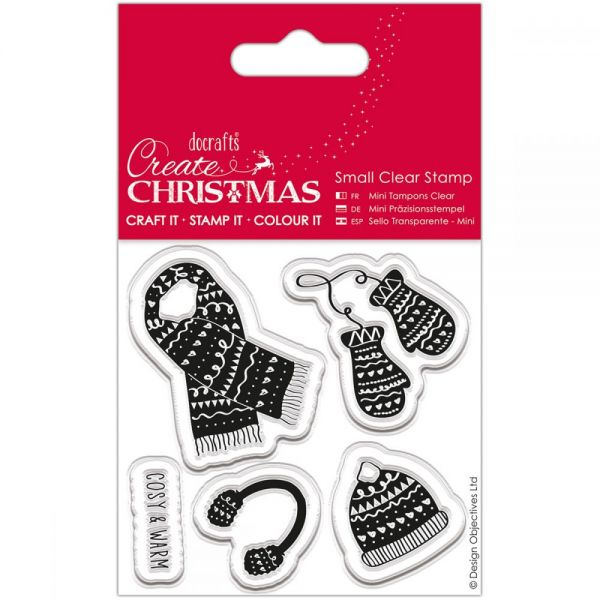 Papermania Create Christmas Small Clear Stamps