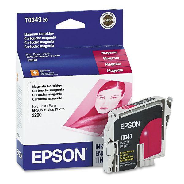 Epson T034320 (34) Ink, Magenta