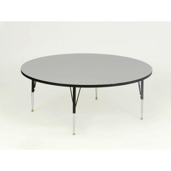 Correll EconoLine Height Adjustable Round Activity Table