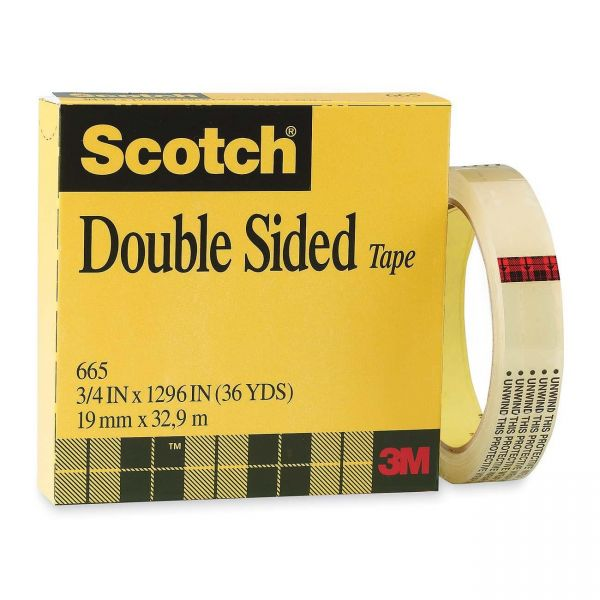 Scotch Permanent Double-Sided Tape