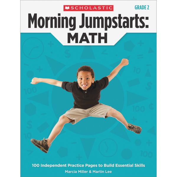 Scholastic Res. Gr 2 Morning Jumpstart Math Wkbook Education Printed Book for Mathematics