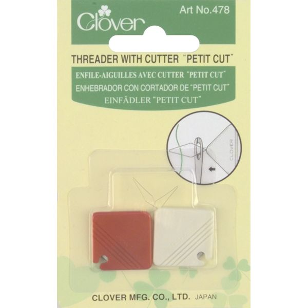 Petite Needle Threader W/Cutter