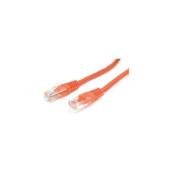 StarTech.com 35 ft Orange Molded Cat5e UTP Patch Cable