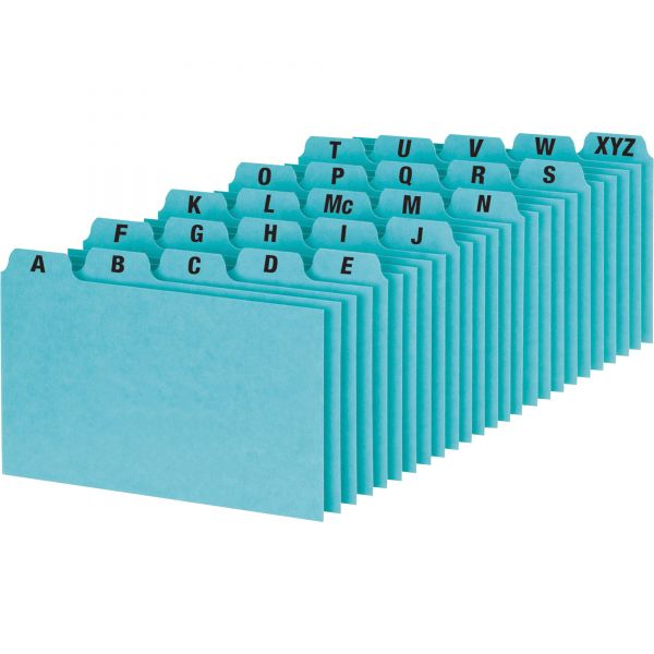 Oxford A-Z Tabs Index Card Guides