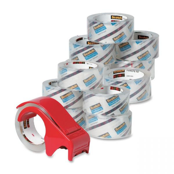 Scotch Packing Tape with Handheld Dispenser
