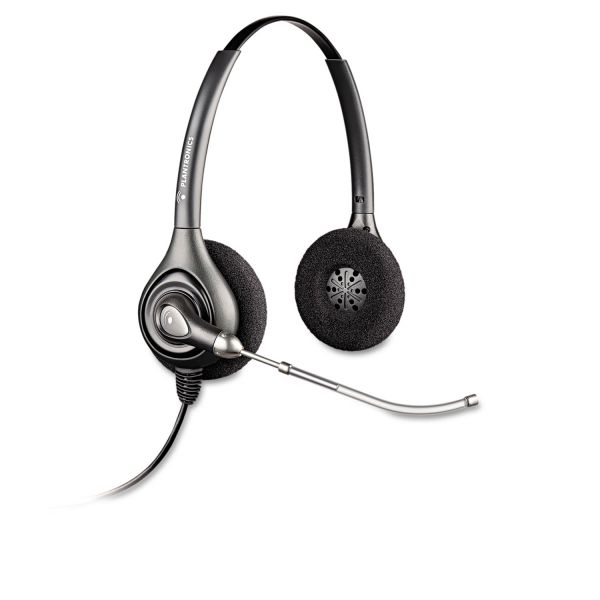 Plantronics SupraPlus Binaural Over-the-Head Wideband Professional Headset