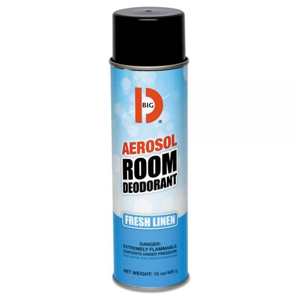 Big D Industries Aerosol Room Deodorant