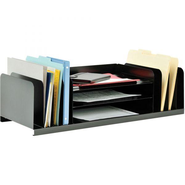 MMF Steelmaster Jumbo Combination Desktop File Organizer