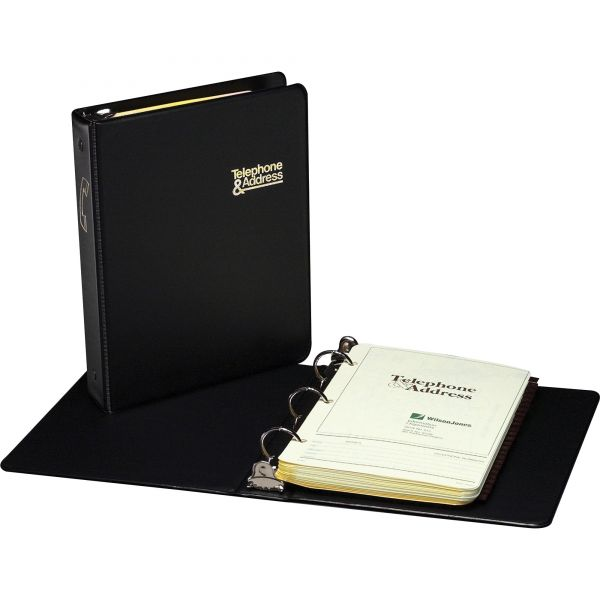 Wilson Jones Loose-Leaf Phone and Address Book