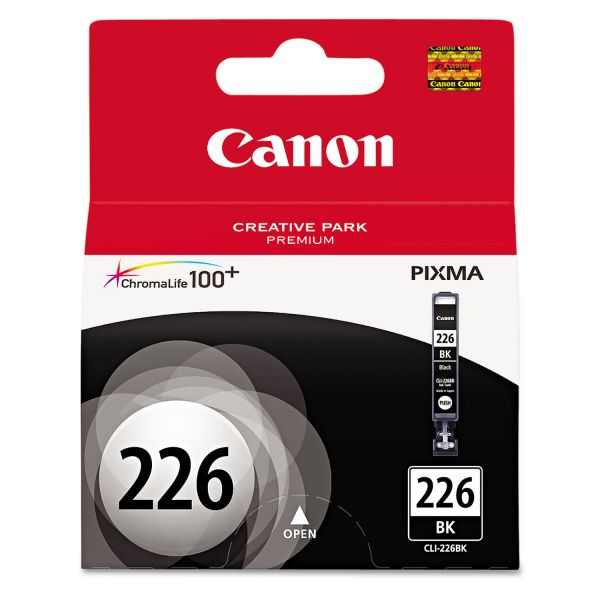Canon CLI-226BK Black Ink Cartridge (4546B001)
