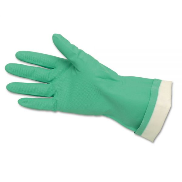 Memphis Flock-Lined Nitrile Cleaning Gloves