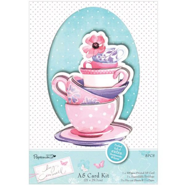 Papermania Lucy Cromwell A5 Card Kit