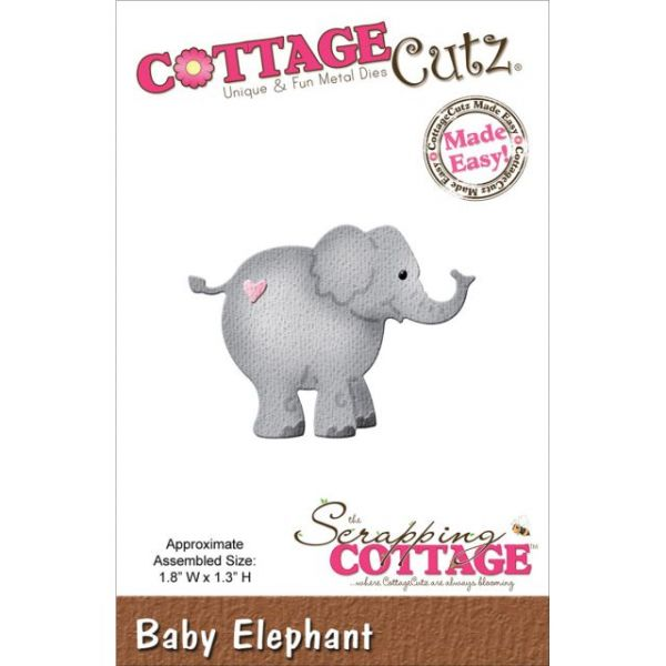 CottageCutz Baby Elephant Die
