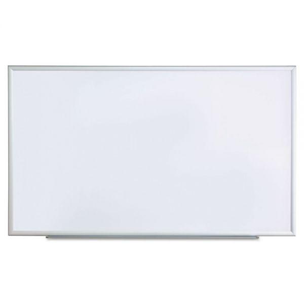 "Universal 60"" x 36"" Melamine Dry Erase Whiteboard"