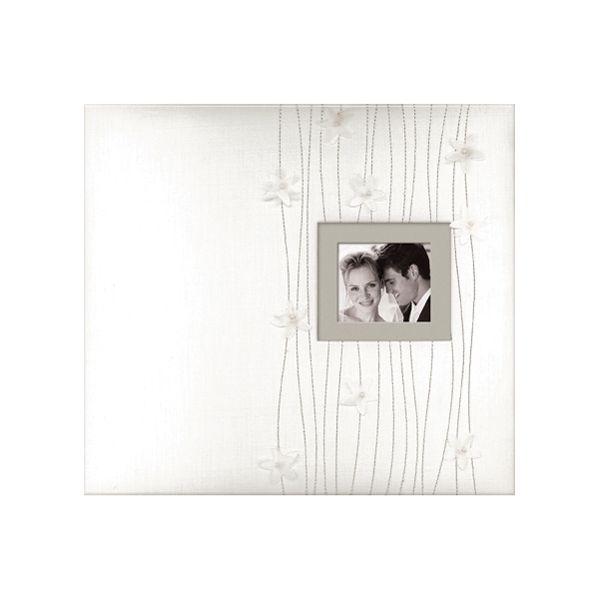"""Fabric Cover Post Bound Album 12""""X12"""""""