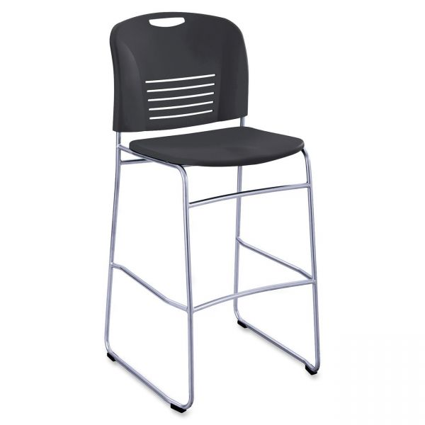 Safco Vy Sled Base Big & Tall Bistro Chair