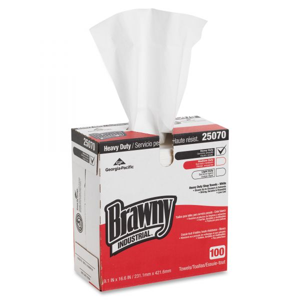 Brawny Industrial Heavy-Duty Wipes