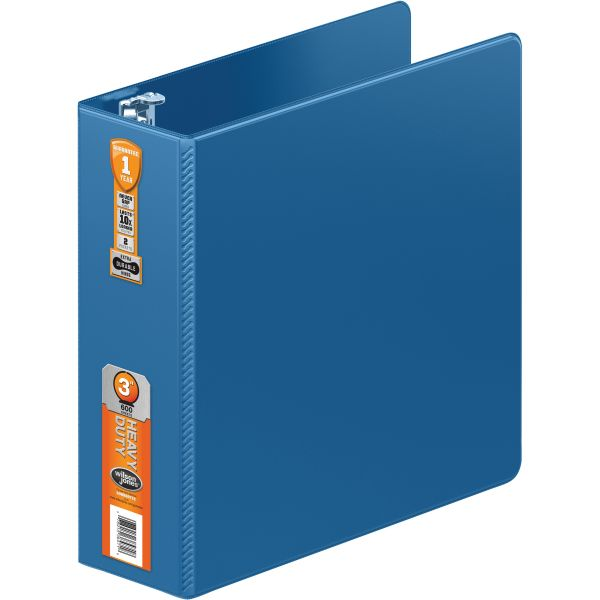 "Wilson Jones Heavy Duty 3"" 3-Ring Binder"
