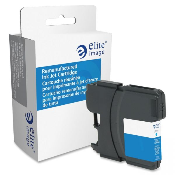 Elite Image Remanufactured Brother LC61CYN Ink Cartridge