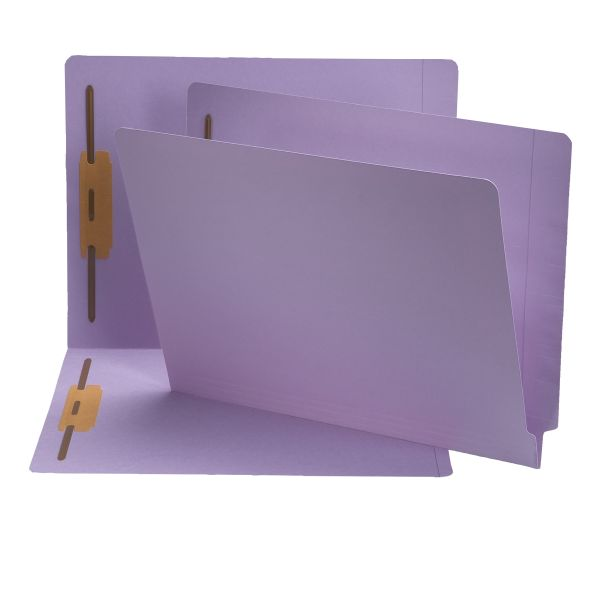 Smead End Tab Colored File Folders With Fasteners