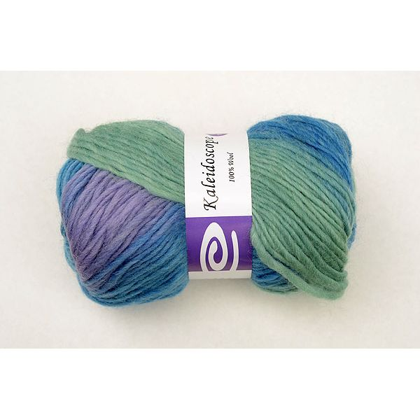 Elegant Kaleidoscope Yarn - Peacock