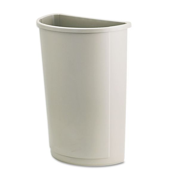 Rubbermaid Half Round 21 Gallon Trash Can