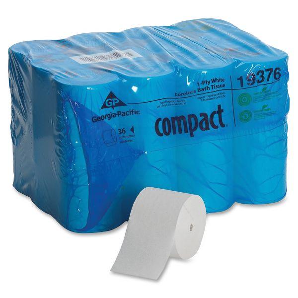 Georgia Pacific Compact Coreless 1 Ply Toilet Paper