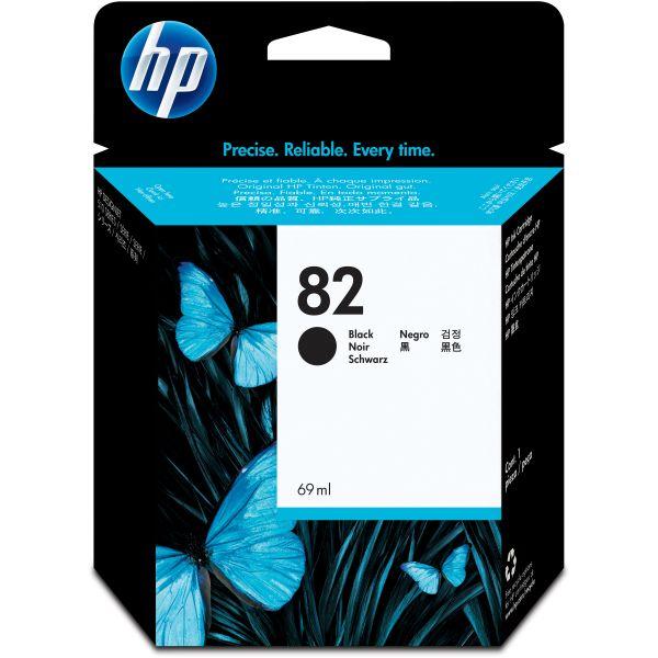 HP 82 Black Ink Cartridge (CH565A)