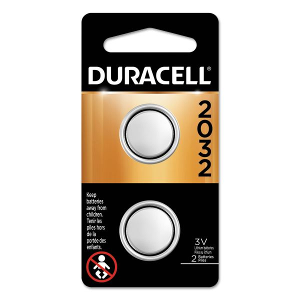 Duracell Lithium Medical Battery, 3V, 2/Pk