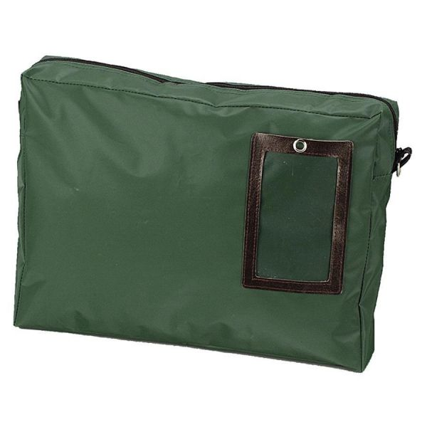PM Company SecurIT Expandable Dark Green Transit Sack, 18w x 4d x 14h