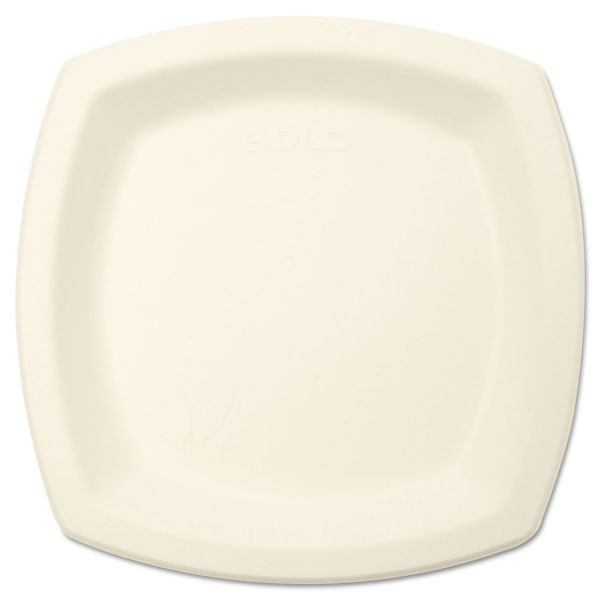 "SOLO Cup Company Bare Eco-Forward 6.70"" Sugarcane Plates"