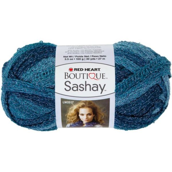 Red Heart Boutique Sashay Metallic Yarn