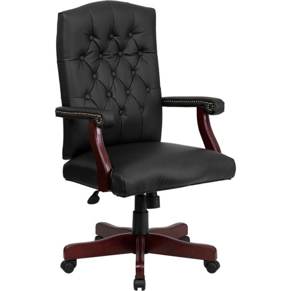 Flash Furniture Martha Washington Leather Executive Office Chair