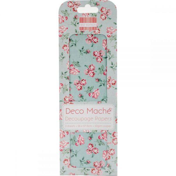 "Deco Mache Paper 10.25""X14.75"" 3/Pkg"