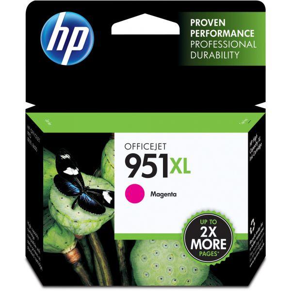 HP 951XL High Yield Magenta Ink Cartridge (CN047AN)