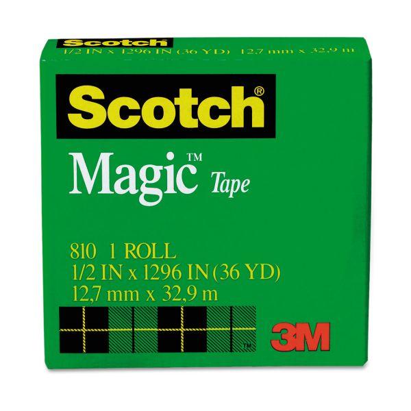 """Scotch 1/2"""" Magic Invisible Tape Refill"""