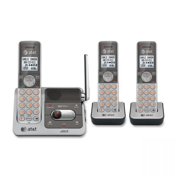 AT&T CL82301 Cordless Phone with Answering Machine
