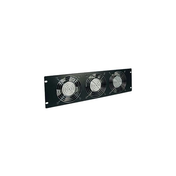 Tripp Lite Rack Enclosure Cabinet Fan Panel Airflow Management 120V 3URM