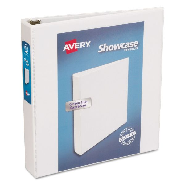 "Avery Showcase Reference 1 1/2"" 3-Ring View Binder"