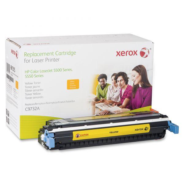 Xerox Remanufactured HP C9732A Yellow Toner Cartridge