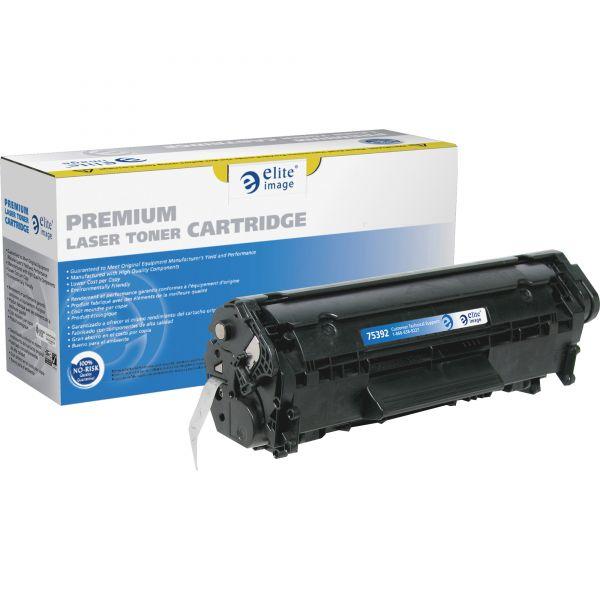 Elite Image Remanufactured HP 12A (Q2612A) MICR Toner Cartridge