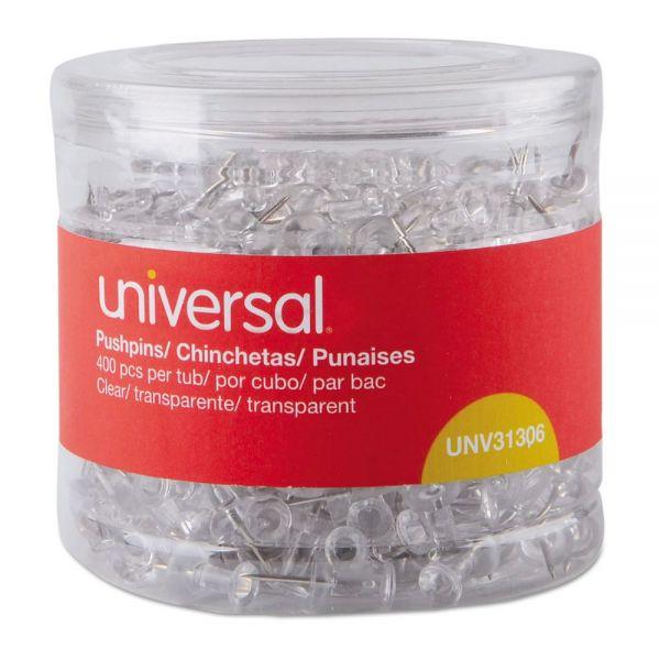 Universal Clear Push Pins