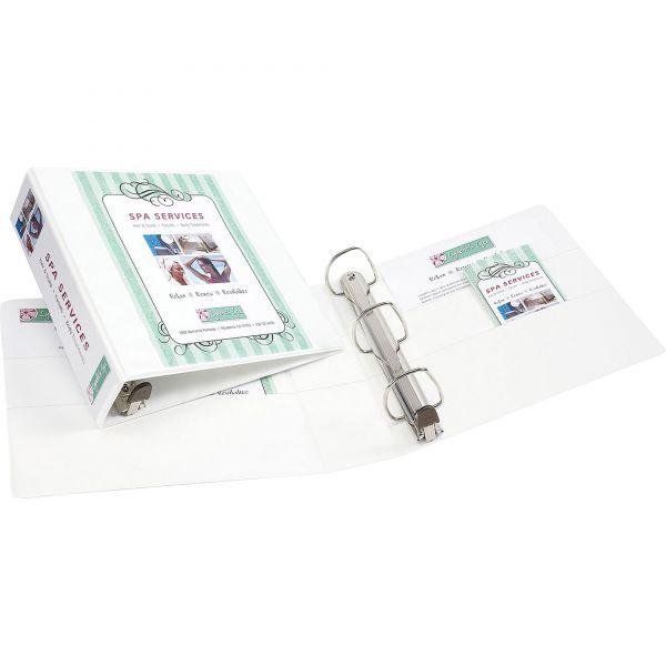 """Avery Heavy-Duty 3-Ring View Binder w/Locking 1-Touch EZD Rings, 3"""" Capacity, White"""