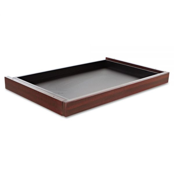 Alera Alera Valencia Series Center Drawer, 24 1/2w x 15d x 2h, Mahogany