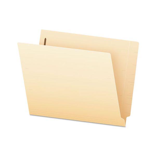Pendaflex End Tab Expansion Folders, 1 Fastener, Straight Cut Tab, Letter, Manila, 50/Box