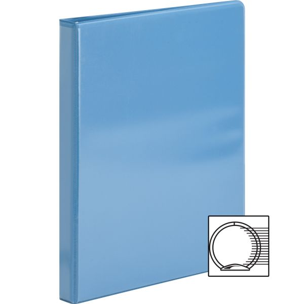 "Sparco Premium 1/2"" 3-Ring View Binder"