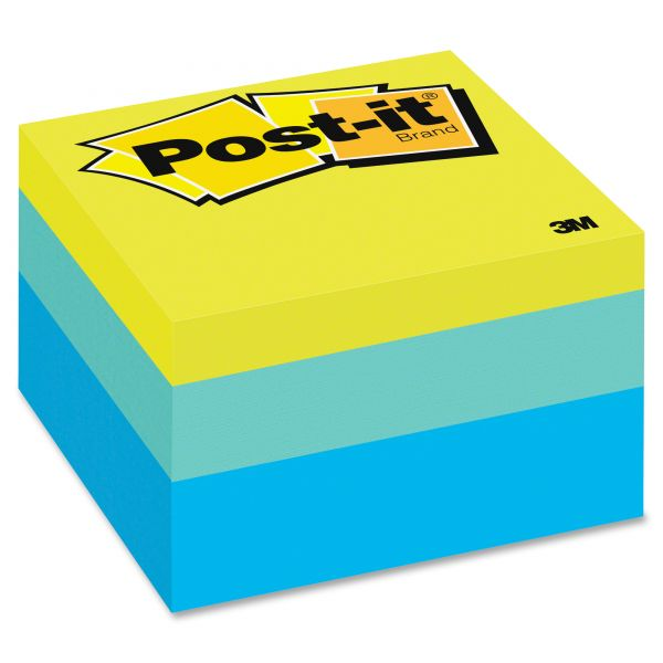 """Post-it 3"""" x 3"""" Notes Cube"""