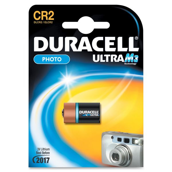 Duracell CR2 Ultra Photo Battery