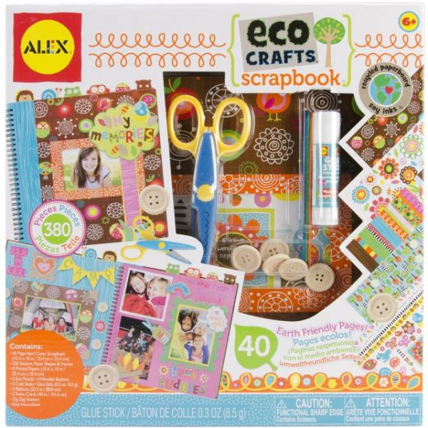 ALEX Toys My Eco Crafts Scrapbook Set